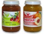 Нектары овощные и плодоовощные с мякотью с сахаром